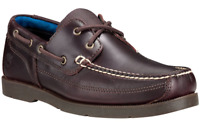 Timberland Mens Piper Cove Handsewn Leather Boat Shoes Dark Brown Style A19ZR