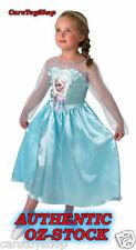 Authentic Disney Frozen Elsa Costume Dress Up Size 4 - 6 Girls Kids 4 5 6