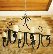 Chandelier Castle 60 CM Candle Holder Hanging Light from Metal