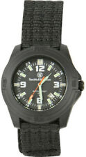 Smith & Wesson Soldier Watch Black nylon wrist strap. Tritium hands and markers.