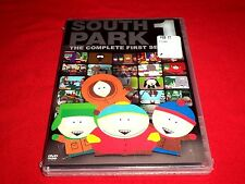 South Park - The Complete First Season (DVD, 2011, 3-Disc Set) New