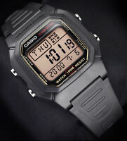 Casio W-800HG-9A Mens Digital Watch 10 Year Battery Multi Function Alarms New