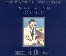 NAT KING COLE The Platinum Collection (CD, Aug-1999, 2 Discs, Start) new CD set