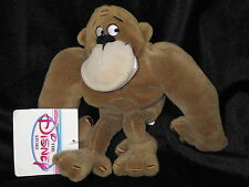 Gorilla George of the Jungle plush bean bag cloth toy Disney new with tags See