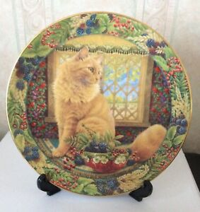 ROYAL DOULTON COLLECTOR PLATE -LESLEY ANNE IVORY   CAT.