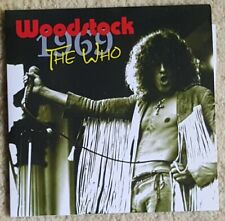 The Who TOWNSEND MOON Live Woodstock 1969 Rare 2 CD Killing Floor 