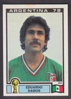 Panini - Argentina 78 World Cup - # 174 Eduardo Ramos - Mexico