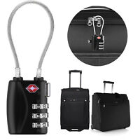 Digital Combination Lock TSA Approved Lock For Luggage Suitcase Zipper Travel