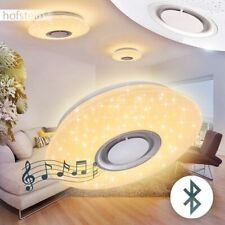 LED Decken Lampen Bluetooth Lautsprecher Wohn Zimmer Leuchte Sternen Himmel