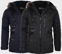 Geographical Norway Herren Sehr Warm Winter Jacke Parka Outdoor Funktionsjacke