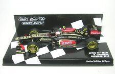 Lotus F1 Equipo Nº 8 Romain Grosjean Formal 1 Coche A Escala 2013