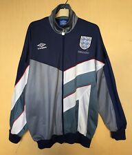 ENGLAND NATIONAL 19961997 FOOTBALL TRACK JACKET COAT  VINTAGE TRAINING