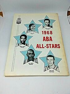 1968-69 1968 ABA Sporting News Guide  Rick Barry Oakland Oaks  George Mikan