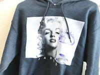 Marilyn Monroe Hoodie Size Medium Drinking a Purple Drink Hoodie Men Or Women