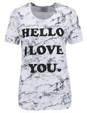 Zoe Karssen T Shirt Hello I Love You Size XS,  L NEW £80