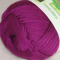 Sale New 1ballX50g Soft Baby Socks Natural Smooth Bamboo Cotton Knitting Yarn 03