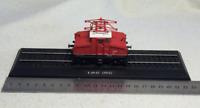 New 1:87 HO Scale Urban Rail Trolley E 69 03 (1912) Train Plastic Display Model