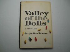 Valley of the Dolls by Jacqueline Susann, 1966, Very Good condition