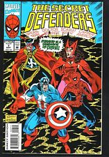 """Secret Defenders #7--""""The Queen, My Lord, is Dead""""--1993-Spider-Man/Capt America"""