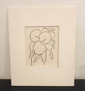 "Henri Matisse, Original Lithograph ""Prints from the Mourlot Press"", 1964"