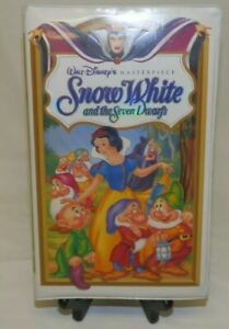 Rare Disney Snow White and the Seven Dwarfs Masterpiece Collection VHS 1524 1994