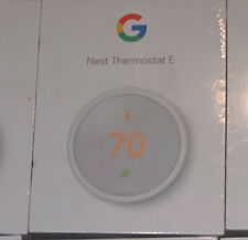 Google Nest ThermostatE - White - Open Box