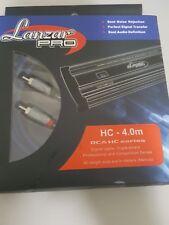 LANZAR PRO HC-4.0M  3 CHANMELS AUDIO RCA CABLES  4 METERS
