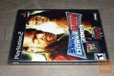 WWE SmackDown vs. Raw 2009 Featuring ECW (PlayStation 2, PS2) FACTORY SEALED!