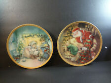 Hamilton Collector Plates Lot Creature Stirring Manger Lisi Martin Christmas Usa