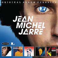 Jean Michel Jarre : Original Album Classics CD Box Set 5 discs (2017) ***NEW***
