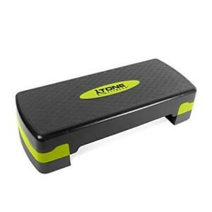 Aerobic Step Platform | Exercise Step | Full and Compact Sizes Yellow