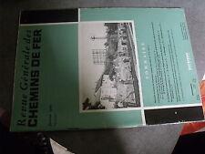µ? Revue RGCF Revue Generale Chemins de Fer 01/1960 Amenagement Durance Romilly