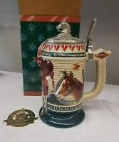 """*ANHEUSER BUSCH COLLECTORS CLUB 2000 MEMBERSHIP STEIN """"BORN TO GREATNESS"""""""
