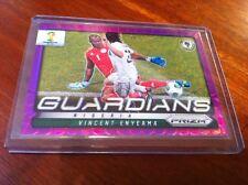 Panini Prizm 2014 World Cup No.18 Vincent Enyeama Nigeria purple Guardians 39/99