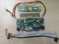 HDMI+DVI+VGA LCD Lvds Controller Board Kit for LED Panel M201EW02 V.8 1680X1050