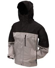 Frogg Toggs Toadz Toad Rage Rain Jacket, Steel Gray/Black Size 2Xl