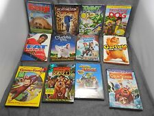 Dvd Lot Of 12 Disney Dream Works Benji TMNT Brother bear 2 Animation New!