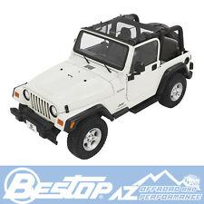 Bestop Targa Style Sun Bikini® - Black Mesh 97-06 Jeep Wrangler TJ LJ 52403-11