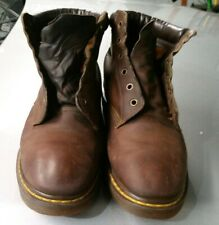 Dr Martens vintage, Made In England double stitched, Doc Martin's, rare sz 12