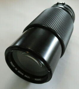 Canon Zoom FD 70-210mm f4 Telephoto Lens