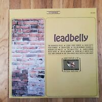 Leadbelly Archive of Folk and Jazz Music EX Vinyl Lp EX Record Cover FS-202