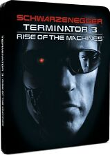 Terminator 3 Rise of the Machines Limited Edition Steelbook Bluray UK NEW SEALED