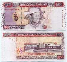Myanmar 500 Kyats 2020 P New UNC