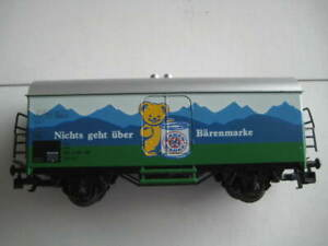 "Marklin H0 4484 DB ""Nichts geht uber Barenmarke"" Kuhlwagen - LN"