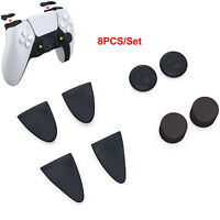 8PCS Thumbsticks Thumb Stick Grip Cover Caps For PS4 PS5 Controller Accessories