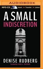 A Small Indiscretion by Denise Rudberg (2015, MP3 CD, Unabridged)