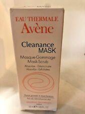 AVENE Cleanance Mask for Oily Acne-Prone Skin 1.69oz/50mL Full Size Exp 02/2019