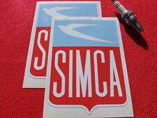 Pair of Simca  stickers