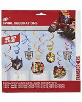 Amscan - Transformers Foil Swirl Hanging Decoration