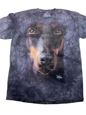 New listing The Mountain Doberman Dog Face Youth T-shirt New Small 6-8
